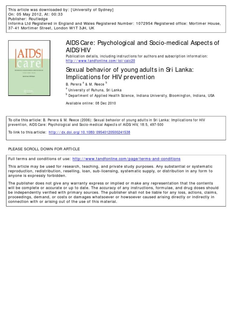 interfemoral sex hiv risk