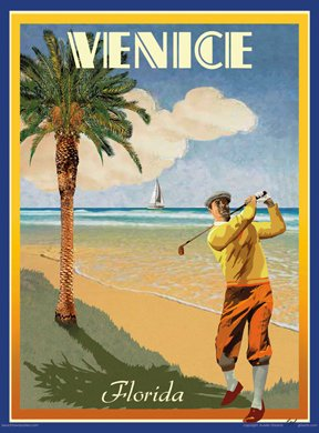 vintage posters of florida