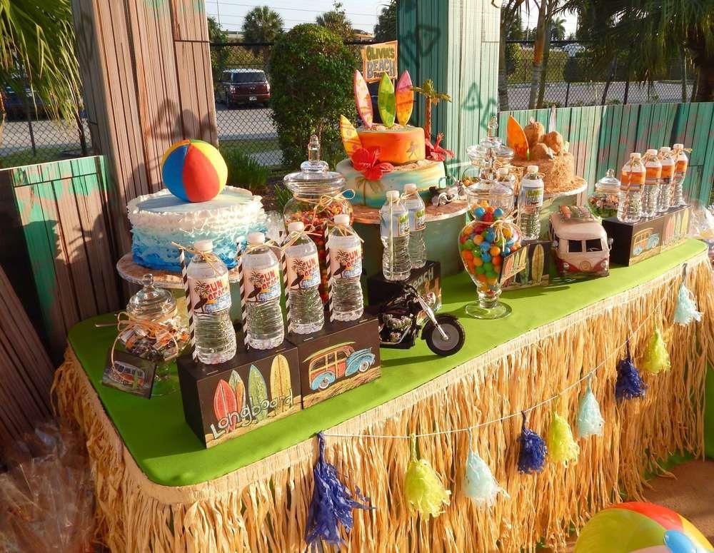 teen luau party