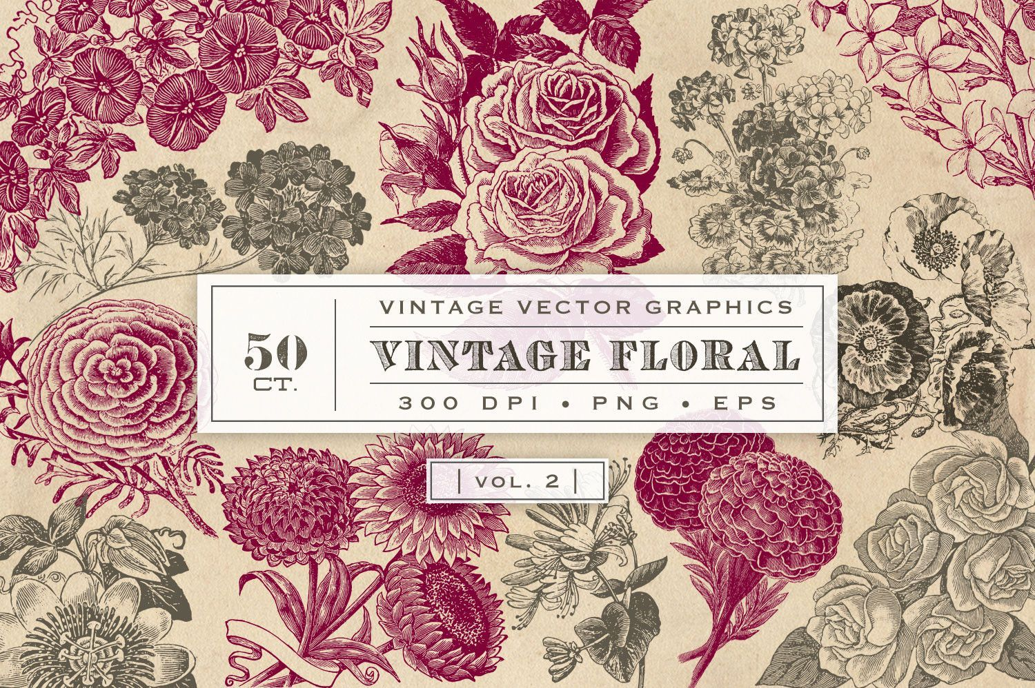 of flowers vintage list
