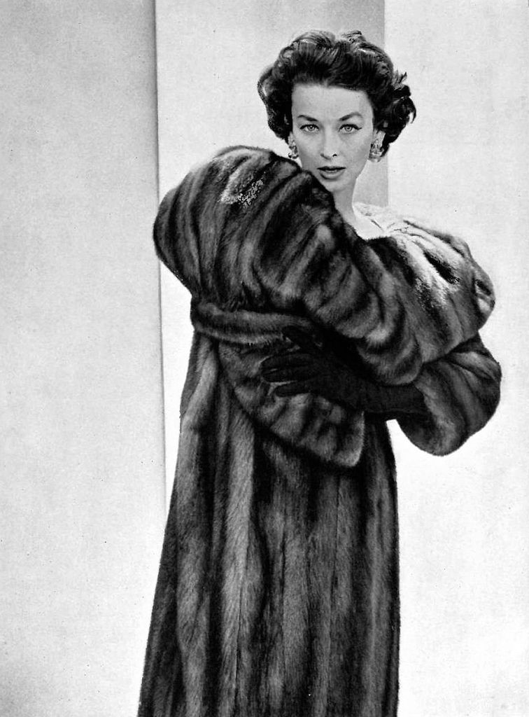 coat mink vintage leigh by