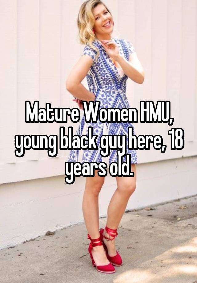 black mature young