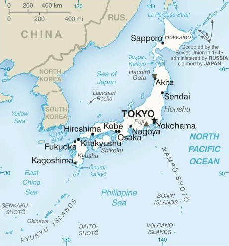 cities of japan