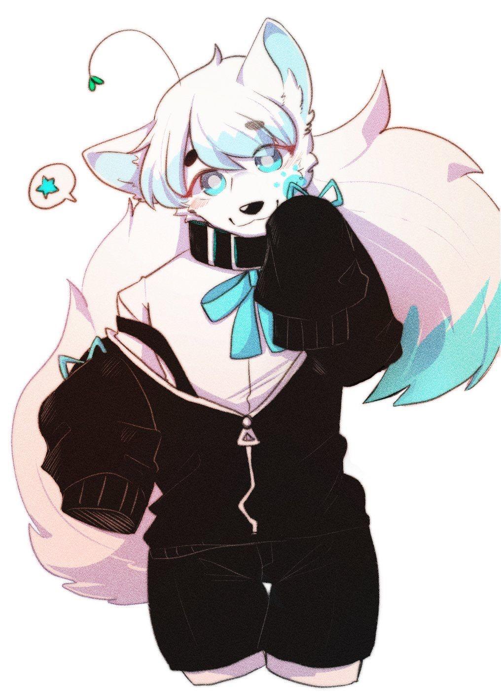 anthro wolf cute
