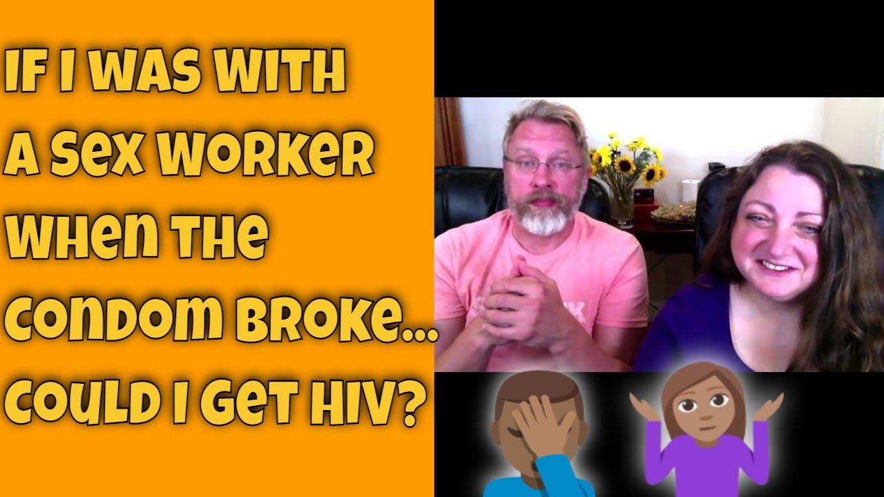 condom broke hiv