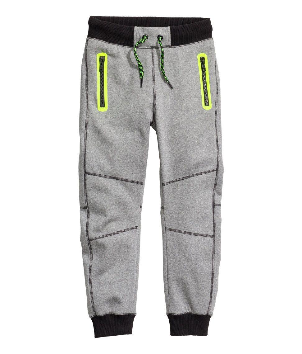 bottom open sweats boys